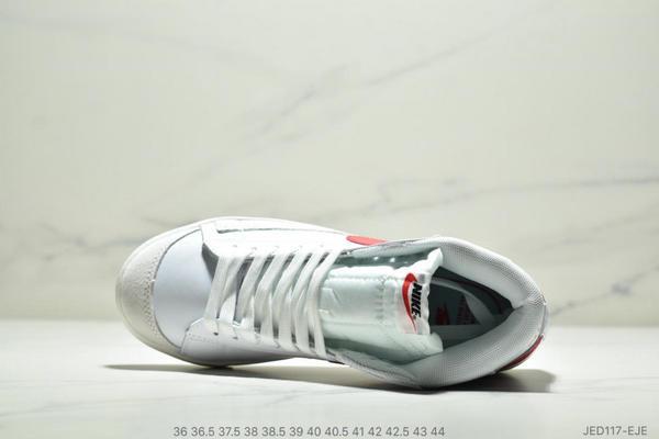 31944dc5beb25ab14b2d85d2817902cd - NIKE BLAZER MID  77 VNTG012613 高幫開拓者頭層皮經典板鞋 情侶款 白紅