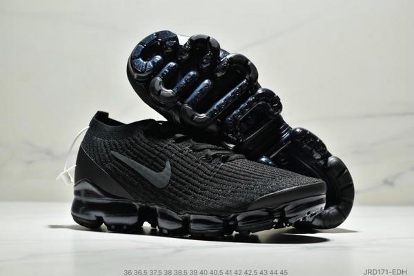 31ab949908410621b816c86408c49108 - Nike Air VaporMax Flyknit W 3.0三代大氣墊百搭休閒運動慢跑鞋 情侶款 黑色