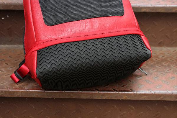 335aeb35c479b1b23bd61c558da48bb4 - Nike Air Jordan 同款 純色AJ雙肩揹包 黑紅