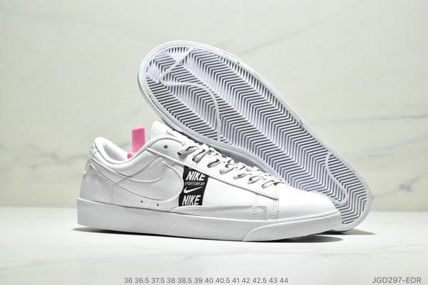 346de53181e4123ae2eb30b1f6754f49 - Nike Blazer Low SE 開拓者休閒運動板鞋 情侶款 白黑