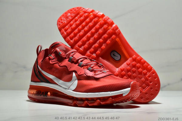 355ff775a21cf92daec9eded34cf5647 - Nike React Element 87全新演繹注入Max 2019 氣墊 男款 紅白
