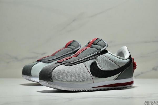 35df2bdbd5ee67739f061245be4a961b - Nike Cortez Kenny IV 110E2022聯名 全新阿甘一腳蹬設計 運動休閒慢跑鞋 男鞋 灰黑紅