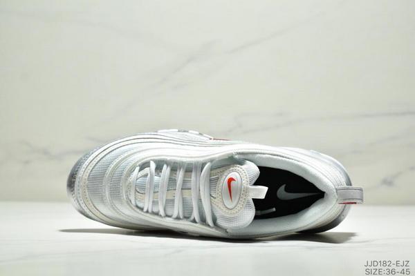 37ae356104959bdc7d7ac93f264c6beb - NIKE AIR MAX 97 OG UNDFTD 97復古全掌小氣墊減震跑鞋 情侶款 白銀紅