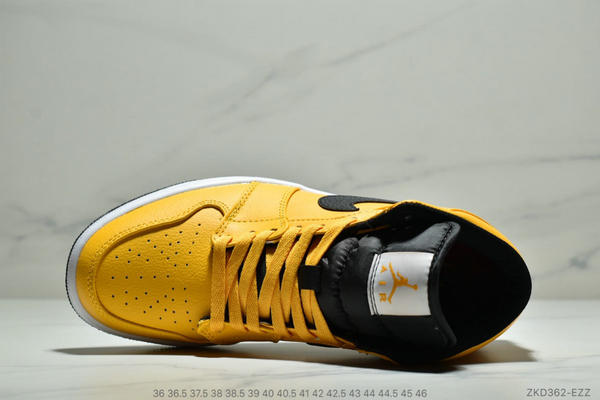 3b10b9f06aaf848840425c8be0815eb3 - NIKE Air Jordan 1 Mid 211S4821 黑黃小新歡 計程車配色