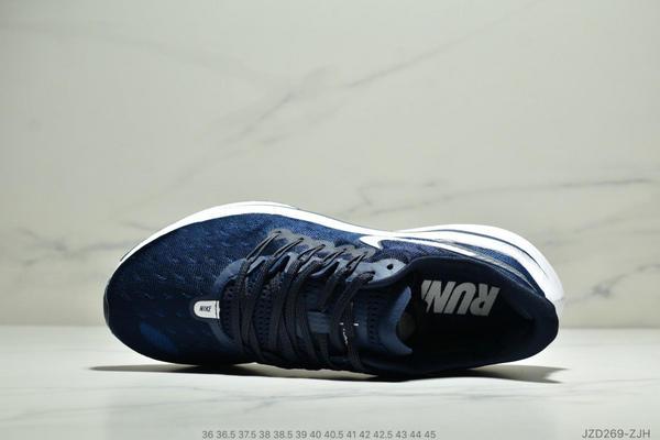 426937078e10a7019d85006592272417 - Nike Air Zoom Vomero 14代 內建4/3氣墊 馬拉鬆拉線緩震運動跑步鞋 情侶款 深藍白
