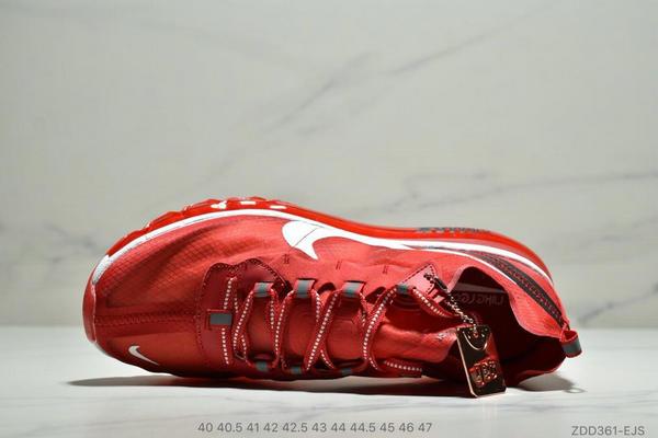43b50939c61f44743bbd4ac07a51d3ce - Nike React Element 87全新演繹注入Max 2019 氣墊 男款 紅白