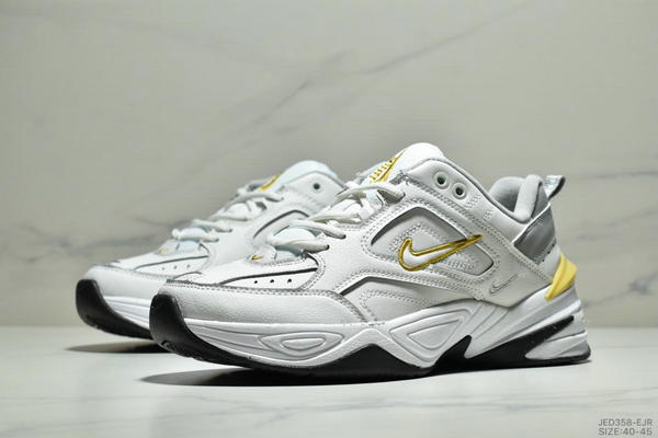 43efff4cf2935a990b8d3cf822e37259 - NikeM2K Tekno香蕉黃亮彩扎染復古休閒老爹鞋 男款 白黃