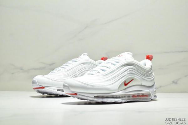 442345d569c5b768794dde38ea1e4082 - NIKE AIR MAX 97 OG UNDFTD 97復古全掌小氣墊減震跑鞋 情侶款 白紅