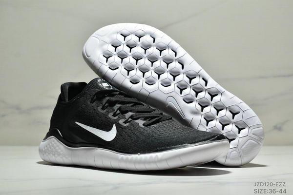 4adb0ec9c73c20da9a3c5dcda890dc41 - NIKE FREE RN 輕便網面透氣慢跑鞋 男女款 黑白