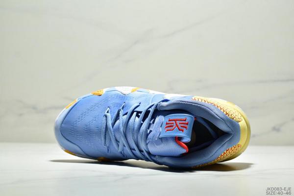 4ba22ced7e9894a5a967dfecd8b105c2 - Nike Kyrie 4 Ep 歐文4代高幫運動籃球戰靴 男款 藍黃白
