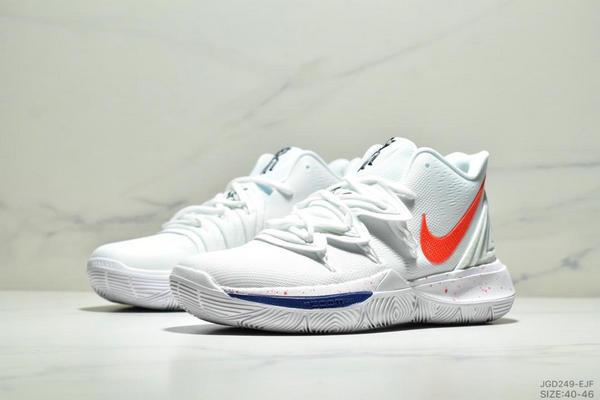 53bfafec1d335c04b9262fa90da207cb - Nike KYRIE 5 EP 艾文5代 內建氣墊 實戰籃球鞋 男鞋 白橘