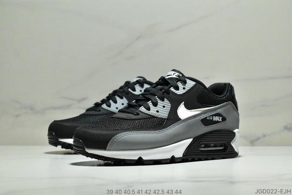 5532c0bb31ff6c50e173be0885975575 - Nike Air Max 90 Essential 復古氣墊休閒跑鞋 男款 黑灰白