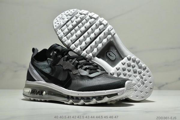56ddbcaf5edd19cae5668202412c2e03 - Nike React Element 87全新演繹注入Max 2019 氣墊 男款 黑白