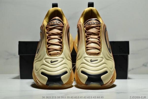 5bf2ad2b953e7633d3ebc290468eb2a0 - Nike Air 720太空大氣墊前衛運動慢跑鞋 情侶款 黃黑