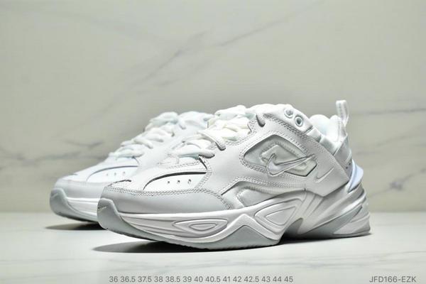 5fa1a77abca9b3efeb2da78ad39b3589 - Nike Air M2K Tekno 復古老爹鞋 男女款 白色