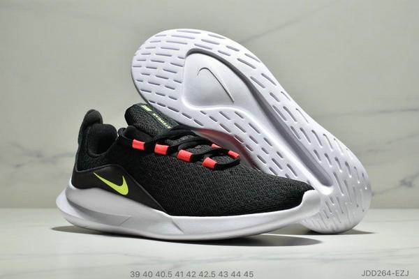 60d449dfa623ae144c0dea2a132086d1 - Nike VIALE維亞爾系列網面輕便運動休閒跑步鞋 男款 黑紅綠