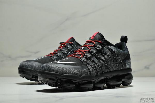 610f270c5f02cb6be76bd005443e6b2e - Nike Air Vapormax Flyknit 全掌大气垫减震慢跑鞋 男款 黑白紅