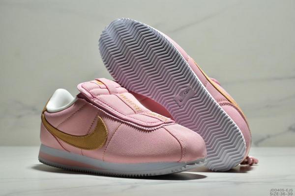 6164b9431b7f07541b3534d7825c9e36 - Nike Cortez Kenny IV 110E2022聯名 全新阿甘一腳蹬設計 運動休閒慢跑鞋 女鞋 粉黃