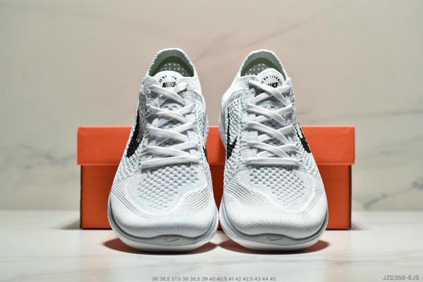 68597c406b583fc13db0126d22545863 - Nike Free Rn Flyknit 赤足飛線編織運動跑步鞋休閒鞋 情侶款 白黑