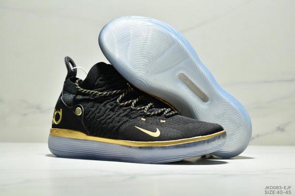 77772a73637158fbbc39ee84d96252fc - Nike Zoom KD11 EP 杜蘭特11代 編織鞋面 男子實戰籃球 休閒運動鞋 黑白金