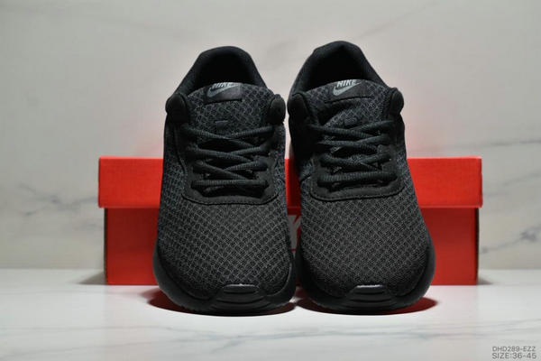 77b79e31b93a2696576ebd12d9f3dd37 - Nike Wmns Tanjun SE 倫敦三代 尼龍韌性透氣網面 男女鞋 全黑