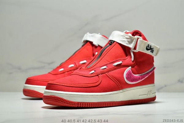 8185e740cb16ebd5e6f0977317c7fe10 - E.U. x Nike Air Force1 High情人節AF1冠希 空軍板鞋 男鞋 紅白
