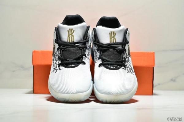 81db2760a94c2c03973e5ae313dd1b9f - NIKE KYRIE FLYTRAP II 簡版 全明星季後賽實戰靴 男款 白黑金