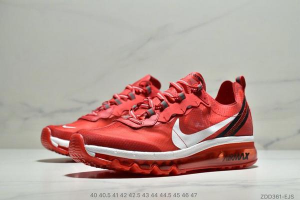 830355f812148422162daa86ddeb1d9f - Nike React Element 87全新演繹注入Max 2019 氣墊 男款 紅白