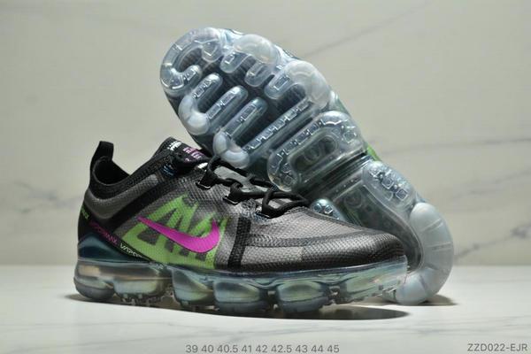 834fe5569268dc53737aea65eddc922a - Nike Air Vapormax 2019大氣墊 網紗鞋面全掌氣墊跑步鞋 男款 黑綠桃紅