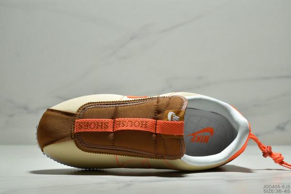 8431d97617f0306e2811dbdf9f878da6 - Nike Cortez Kenny IV 110E2022聯名 全新阿甘一腳蹬設計 運動休閒慢跑鞋 男女鞋 黃橘