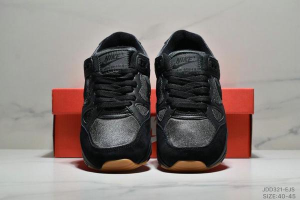 843e6a50f72751539c5da8a705220959 - Nike Air Span II 男子新款復古緩震運動鞋 男款 黑色