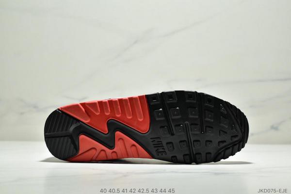 86e3f05a700d804567145f781766a6b2 - Nike Air Max90 Essential 復古氣墊百搭慢跑鞋 男款 白藍黑紅