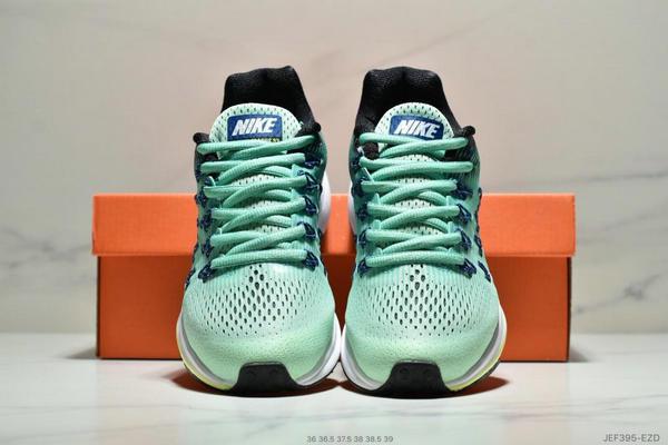 8875f1b2da4019913337f0a963a9c1ff - Wmns Nike Air Zoom Pegasus 33登月系列 透氣網面夏季清涼休閒慢跑鞋 女鞋 綠藍白