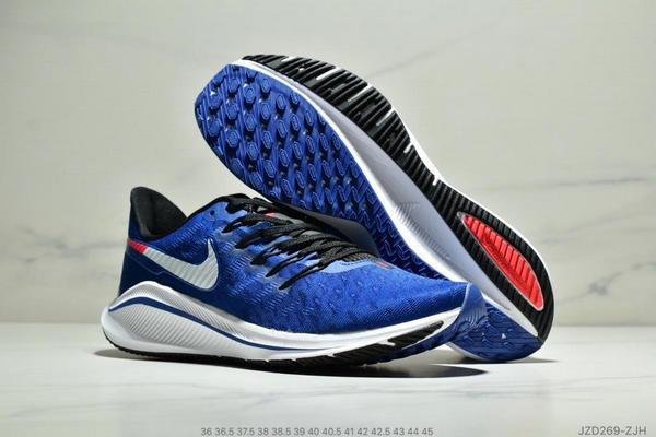 8994b8b5b3e9ff07cbf760aa0cb9070a - Nike Air Zoom Vomero 14代 內建4/3氣墊 馬拉鬆拉線緩震運動跑步鞋 情侶款 寶藍白黑