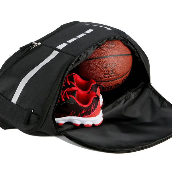 89bcb261a796792bef5154eb029ac215 - Nike 跑車設計 流線型大容量雙肩包揹包 運動健身揹包 訓練包 黑白
