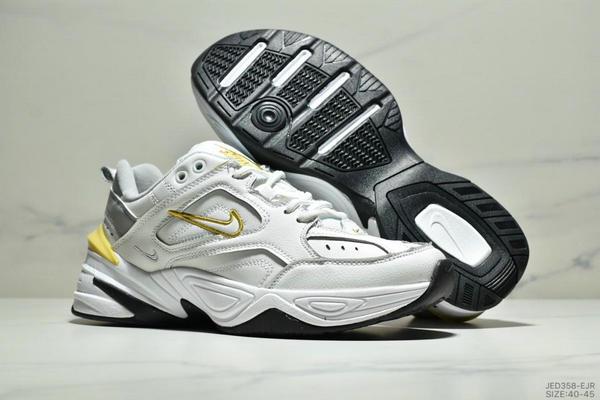 8c061146303c9dc769a38431dbc4ad28 - NikeM2K Tekno香蕉黃亮彩扎染復古休閒老爹鞋 男款 白黃