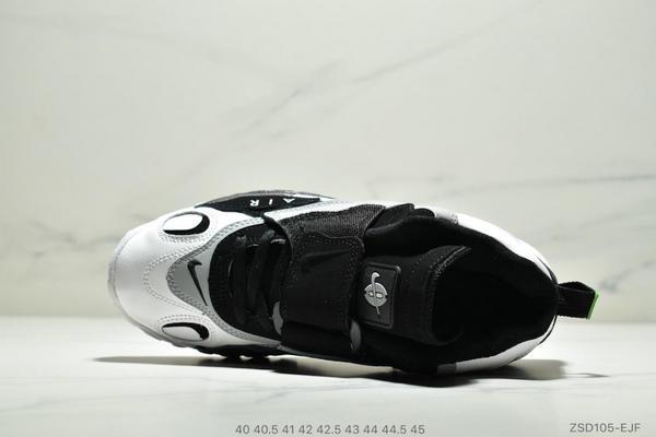 8d612c24e212b1acbb829a7be6d48f62 - Nike Sportswear Air Max Speed Turf 加速實驗系列復古氣墊籃球鞋黑白奧利奧 男款 黑白綠