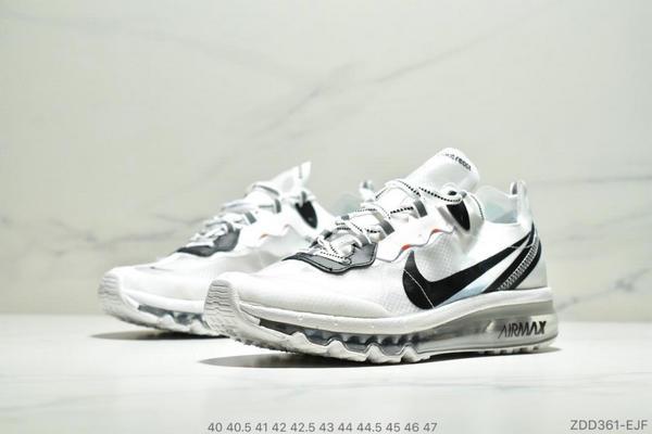 8de0e671f3dd821bb7246d8ce620a6bb - Nike React Element 87 Max 2019 氣墊 男款 白黑