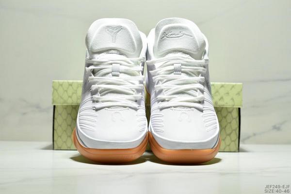 90a9af3def2d6b0162c7e16caa3dcb03 - NIKE KOBE AD EP科比實戰籃球鞋運動鞋 男款 白色