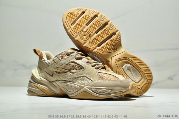 91f6af47d372b08ce83ed53c4cb790b7 - Nike M2K Tekno SP復古潮流百搭休閒運動旅遊老爹鞋 情侶款 亞麻黃沙棕