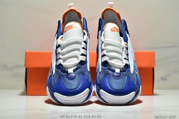 94d2e5f9c56485a3f4400bc4586497c9 - Nike Zoom +2K Sneaker White/Black Zoom 2000復古百搭老爹慢跑鞋 男款 白寶藍黃