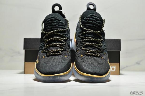 9521a3c55cdbd9d1ba9fc0897012f3c0 - Nike Zoom KD11 EP 杜蘭特11代 編織鞋面 男子實戰籃球 休閒運動鞋 黑白金