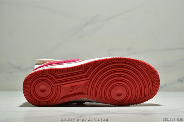 966ca84c57e943843a20774f78fe60d6 - E.U. x Nike Air Force1 High情人節AF1冠希 空軍板鞋 男鞋 紅白
