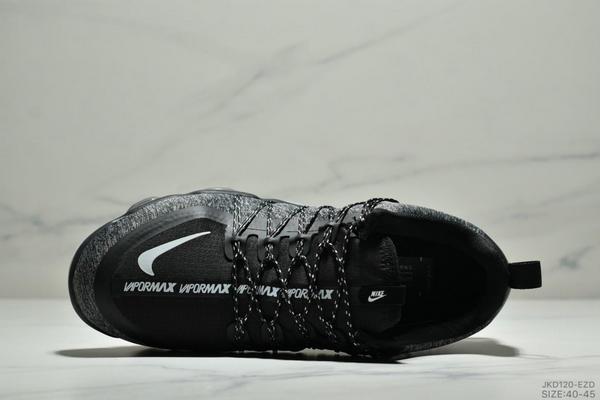 976c6843574509bd06d52024ac3d20d3 - Nike Air Vapormax Flyknit 全掌大气垫减震慢跑鞋 男款 黑白