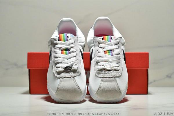 977775b49a5443fdbbc10b513b80d8e9 - Nike Classic Cortez Betrue 阿甘 復古跑鞋 情侶款 白灰黑