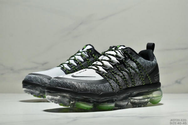 9ca33ea87bb72de827acd4a7abde5a18 - Nike Air Vapormax Flyknit 全掌大气垫减震慢跑鞋 男款 白黑
