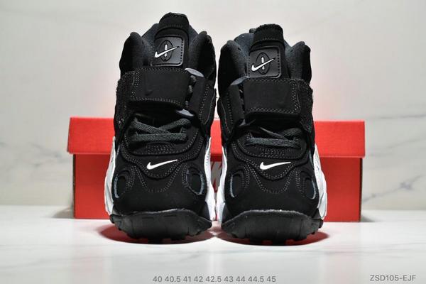 9ee4ac9a54e45d07d98f331bab2d9a05 - Nike Sportswear Air Max Speed Turf 加速實驗系列復古氣墊籃球鞋黑白奧利奧 男款 黑白