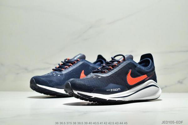 a13f963528a1e455a000f690353812a0 - NIKE EXP-Z07 登月V14.5 運動休閒跑步鞋 情侶款 深藍白橘