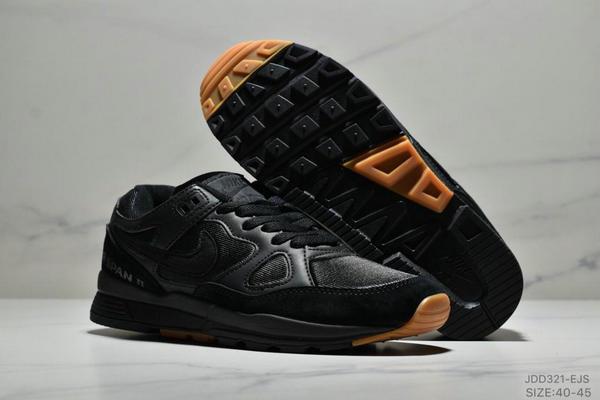 a151585a1424c09fab29f00f5e7f2b09 - Nike Air Span II 男子新款復古緩震運動鞋 男款 黑色