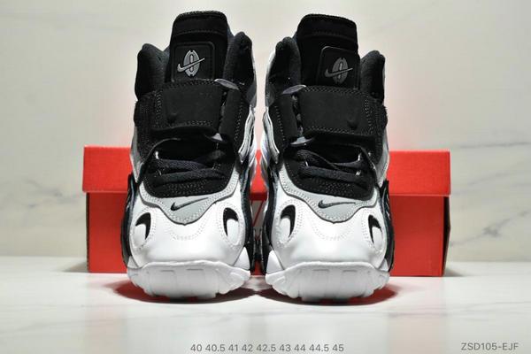 a34baed976814902bd0c2271c26aa131 - Nike Sportswear Air Max Speed Turf 加速實驗系列復古氣墊籃球鞋黑白奧利奧 男款 黑白綠